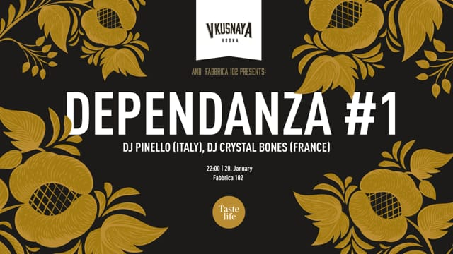 Dependanza #1 - Vkusnaya Vodka Party