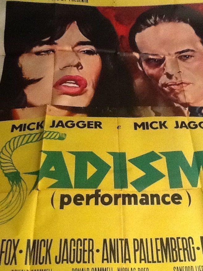Mick Jagger & Nicolas Roeg - Sadismo (Incerto Cinema3)