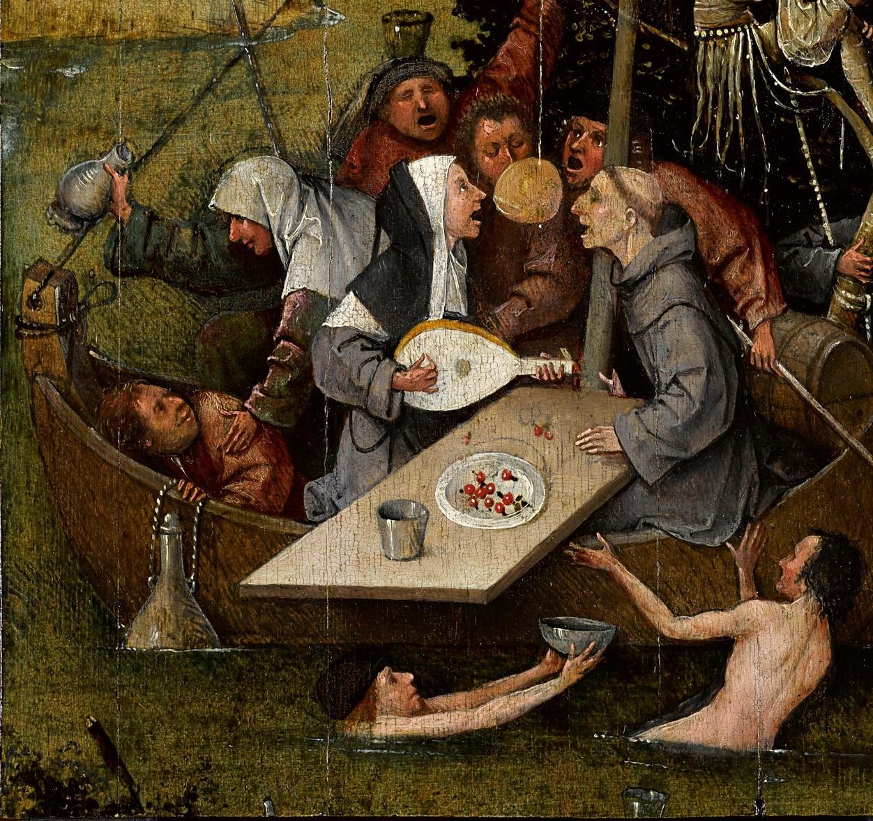 """Stultifera Scientia Conversazione sulla """"Nave dei Folli""""di Bosch"""